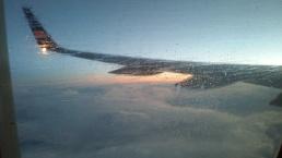 Sunrise via plane