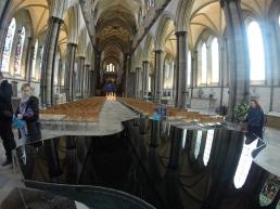 the reflective baptismal font
