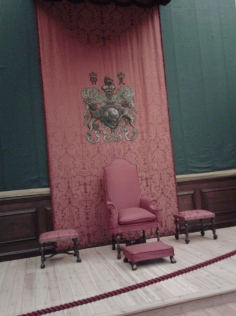 William III's 2nd throne