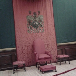 William III's 2nd throne