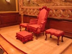 William III's 3rd throne