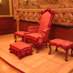 William III's 3rd throne
