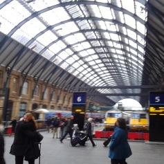 Kings Cross... where's platform 9 3/4???!