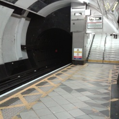 back to Farnham via the London Tube
