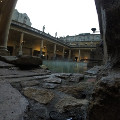 to think, this used to be a very popular bathing destination