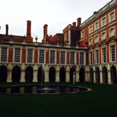 one of the staple markers of Wolsey's construction of Hampton Court