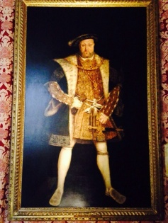 the epic stance of King Henry VIII