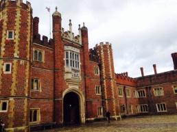Enter Hampton Court Palace
