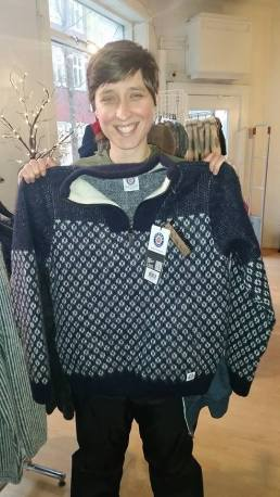 My new sweater!!! photo credit: Maya Simek