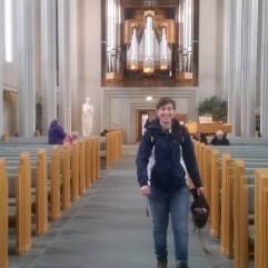 I'm in a church! photo credit: Maya Simek
