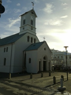 Oldest Church in Reykjavik