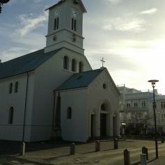 Oldest Church in Reykjavik