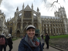 Smile for the selfie with Westminster Abbey
