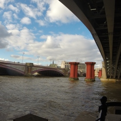 The remnants of London Bridge