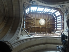 Beautiful vaulted wooden ceiling