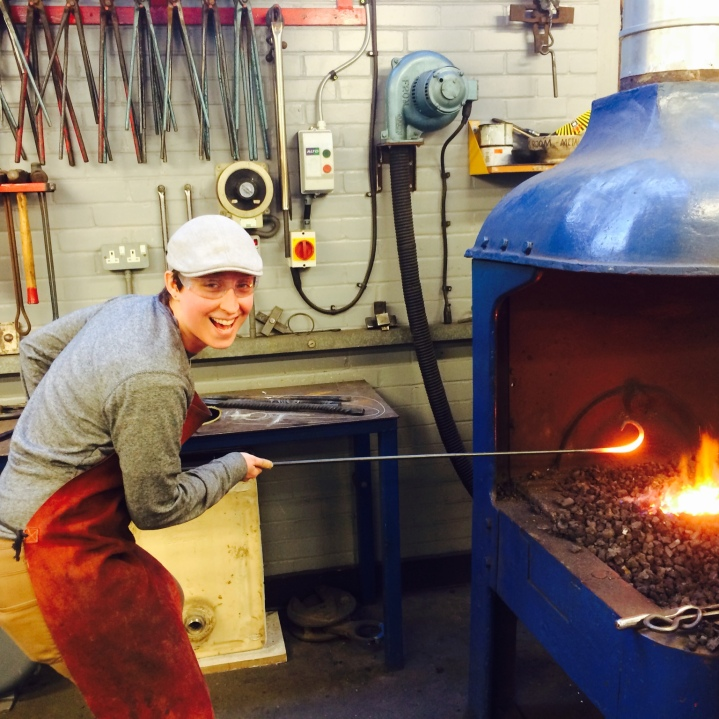 Playing in the forge!
