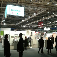 At the Messe Munich International - where the main Schmuck fair is taking place within a few LARGE buildings