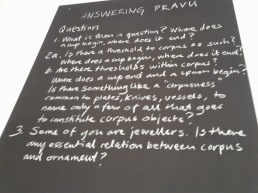 "Questions posed at ""Answering Pravu"""