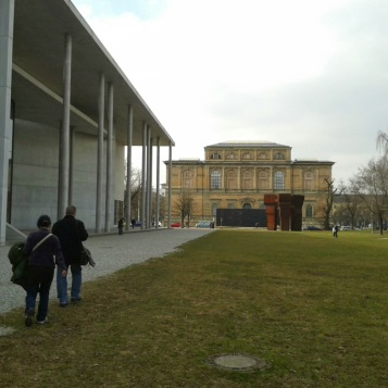 Back to the Pinakothek der Moderne