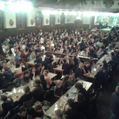 Huge brauhaus hall