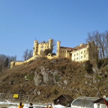 the Medieval Castle Hohenschwangau