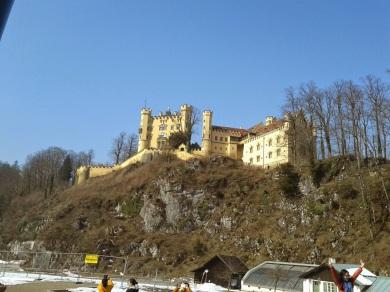 the Medieval Castle Hohenschwangau
