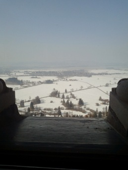 View from inside the Castle