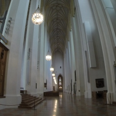 inside Fraenkirche, very minimal and grand, but still had alcoves and super ornate detailing