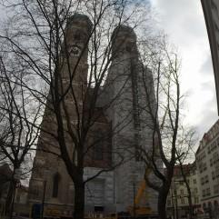 Fraenkirche Church in Bavarian City