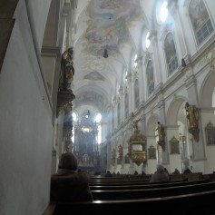 we visited many churches today - This one is St. Peter's Church