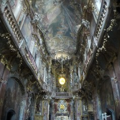 And finally St. Johann Nepomuk, more popularly known as Asam Church