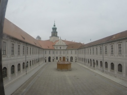 one of the 10 courtyards